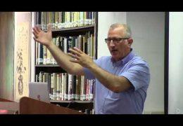 הרצאתו של פרופ' אמל ג'אמל בנושא המדיה הפלסטינאית ובכלל