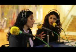 צוות מכללת קול נתניה מראיינים